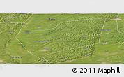 Satellite Panoramic Map of Wangkui