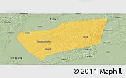 Savanna Style Panoramic Map of Wangkui