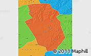 Political Map of Yi An