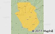 Savanna Style Map of Yi An