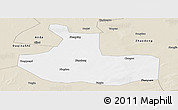 Classic Style Panoramic Map of Zhaozhou