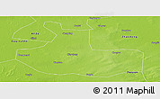 Physical Panoramic Map of Zhaozhou