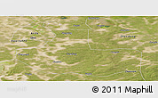 Satellite Panoramic Map of Zhaozhou