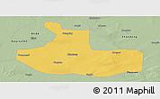 Savanna Style Panoramic Map of Zhaozhou