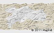 Satellite Panoramic Map Of Enshi - Enshi map