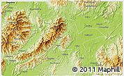 Physical 3D Map of Jiangyong