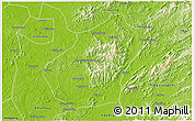 Savanna Style D Map Of Liling - Liling map