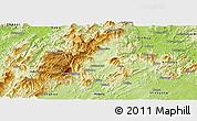 Physical Panoramic Map of Longhui