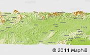 Physical Panoramic Map of Shaoyang