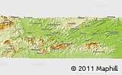Physical Panoramic Map of Xinshao