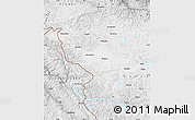 Physical Map of Ladakh (Leh)