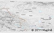 Physical Panoramic Map of Jammu and Kashmir