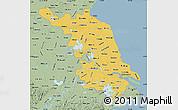 Savanna Style Map of Jiangsu