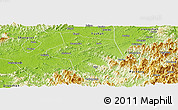 Physical Panoramic Map of Guangfen