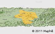 Savanna Style Panoramic Map of Guangfen