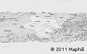 Silver Style Panoramic Map of Guangfen