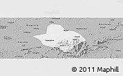 Gray Panoramic Map of Xingan