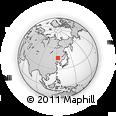 Outline Map of Baicheng Shi