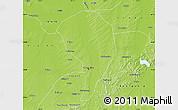 Physical Map of Changchun Shiqu