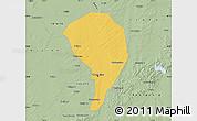 Savanna Style Map of Changchun Shiqu