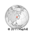 Outline Map of Changchun Shiqu
