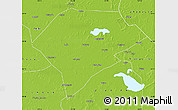 Physical Map of Da An