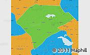 Political Map of Da An