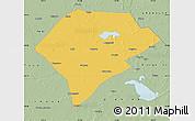 Savanna Style Map of Da An