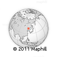 Outline Map of Da An