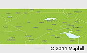 Physical Panoramic Map of Da An