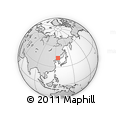 Outline Map of Dongfeng