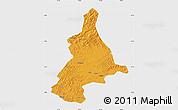 Political Map of Dunhua, single color outside
