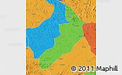 Political Map of Hailong