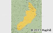 Savanna Style Map of Hailong
