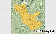 Savanna Style Map of Huadian