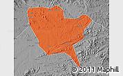 Political Map of Huinan, desaturated