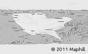 Gray Panoramic Map of Huinan