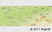 Physical Panoramic Map of Huinan