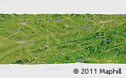 Satellite Panoramic Map of Huinan