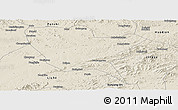 Shaded Relief Panoramic Map of Huinan