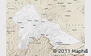 Classic Style Map of Hunjiang Shi