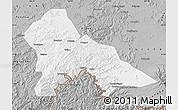 Gray Map of Hunjiang Shi