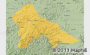 Savanna Style Map of Hunjiang Shi