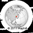 Outline Map of Hunjiang Shi