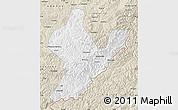 Classic Style Map of Ji An