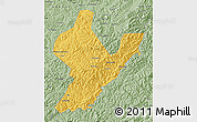 Savanna Style Map of Ji An