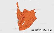 Political Map of Jiaohe, single color outside
