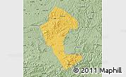 Savanna Style Map of Jingyu