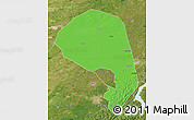 Political Map of Lishu, satellite outside