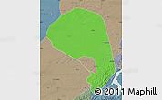 Political Map of Lishu, semi-desaturated
